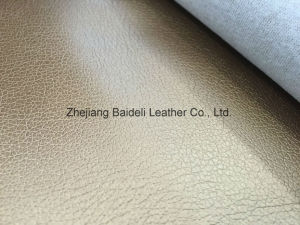 Top Sale Oil PVC Synthetic Leather for Handbag/Suitcase/Case pictures & photos