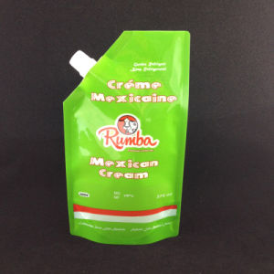 Laminated Creamer Food Packaging Bag with Spout pictures & photos