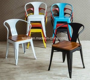 Industry Cast Iron Metal Stool, Metal Chair (LL-BC051) pictures & photos
