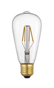 St64/St20 Pendant Lighting Decorative LED Filament Bulb Tawny