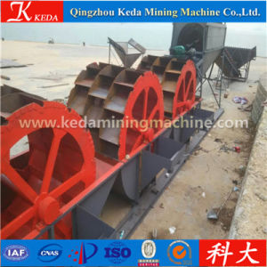 Wheel Type Portabl Sand Washing Washer for Sale pictures & photos