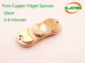 Pure Cupper Fidget Spinner High Speed 4-6 Minutes pictures & photos