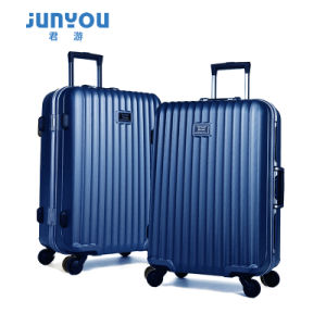 Fashion Design ABS+PC Luggage 20 24 Inch Trolley Luggage pictures & photos
