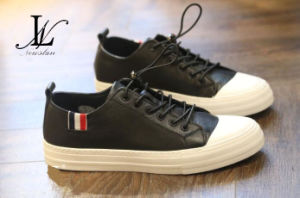 Fashion Leather Men′s Shoes for Casual and Sports (CAS-048)