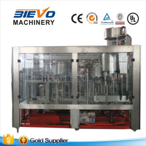 SGS Automatic Carbonated Water Rinsing Filling Capping Machine pictures & photos