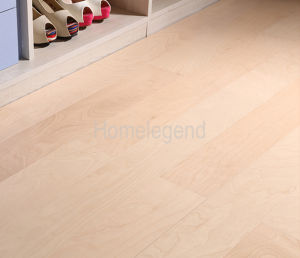 Mulitilayer Wood Flooring Birch Engineered Flooring Cream pictures & photos