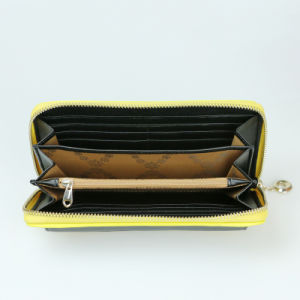 fashion Women Clutch Purse Genuine Leather Wallet pictures & photos