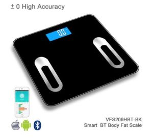 Glass Texture Design Electronic Body Fat Digital Bathroom Weighing Scale pictures & photos
