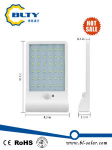 36 LED Solar Wall Light with PIR Motion Sensor pictures & photos
