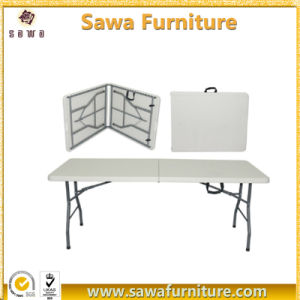 Good Quality Folding Outdoor Plastic Rectangle Table pictures & photos