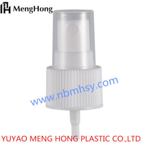 24/410 Wholesale High Quality Plastic White Ripple Smooth Fine Mist Sprayer, Transparent Mist Sprayer pictures & photos