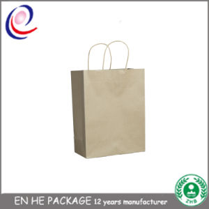 Kraft Paper Bag with Colorful Print for Clothes Packaging