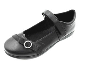 Black PU Children Pump Shoes