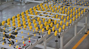 Hot Sale Glass Roller Conveyor System for Glass Processing Line pictures & photos