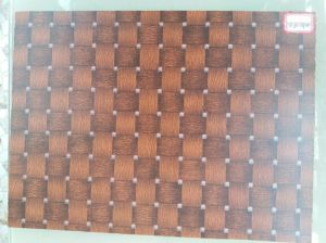 Brown Square Tiles Melamine MDF, Size 1220X2440X17mm
