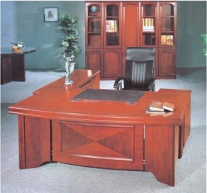Hot Selling Model MDF Wood Modern Elegant Office Table (FEC08) pictures & photos