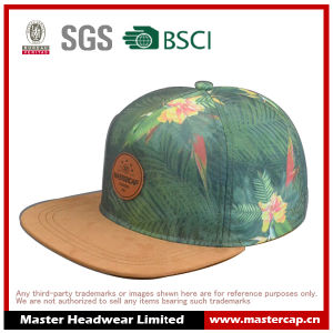 2017 Fashionable Snapback Hat with Heat Transfer Printing for Unisex Adults