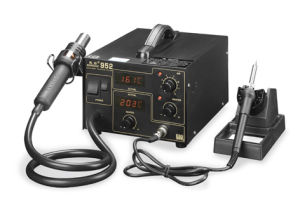 Double Digital Soldering Station (952) pictures & photos