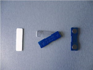 Competitive Blue Plastic Magnetic Bages