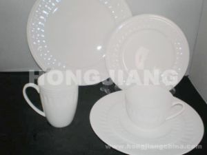 Bone China Dinner Set (HJ068010) pictures & photos
