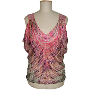 Ladies Silk Gauze Top