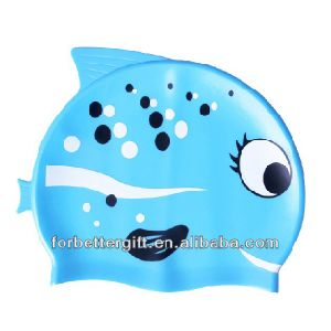 Children Animal Swimming Caps pictures & photos
