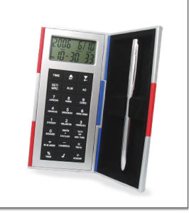 Magic Box With Calculator And World Time Clock (N-602)