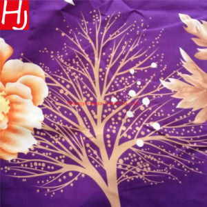 Polyester Microfiber Printed Bed Sheet Fabric