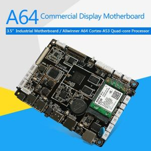 A64 Allwinner Quad-Core Commercial Display Smart Motherboard Android 6 0