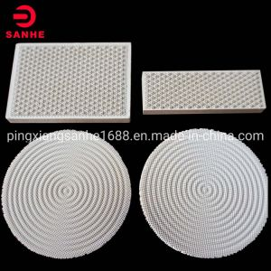 Customized Honeycomb Ceramics Burner Plate