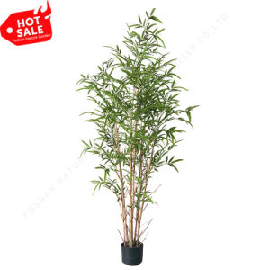 Cheap Indoor Fake Bamboo Tree for Sale Artificial Fabric Plant