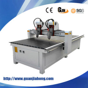 1325 Dual Spindle, Vacuum Table, Woodworking CNC Router Machine pictures & photos