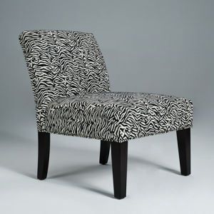 Modern Chair Zebra Accent Chair Hotel Chair (GK8001R)