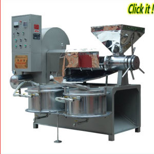 Automatic Jatropha Screw Oil Press (ZL-120) pictures & photos