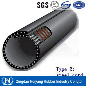 Powder Material Handling Steel Cord Pipe Conveyor Belting