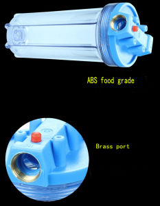 Household RO Water Treatment Housings Qy-10m1 pictures & photos