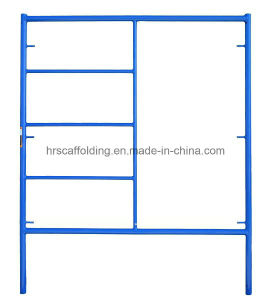 Steel Shoring Frame System Scaffolding Powder Coated pictures & photos