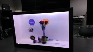 Transparent LCD Display Screen for Advertising Player pictures & photos