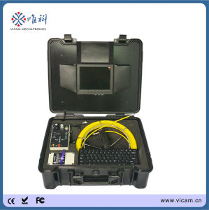 2014 Hot New Underwater Deep Wells Drain Pipe Inspection Camera with 50m Fiberglass Push Rod Cable pictures & photos