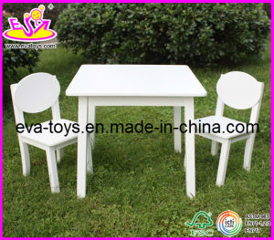 Hot New Product for 2015 Wooden Table and Chair, Cheap Children Table and Chair Set Toys, Hot Sale Wooden Toy Table Chair W08g037 pictures & photos