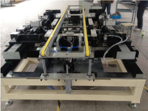 Gst-Dzj Full Automatic PV Solar Module Framing Machine with Glue Despensing Function