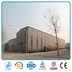 SGS Approved Prefabricated Steel Industrial Storage Shed (SH 657A)