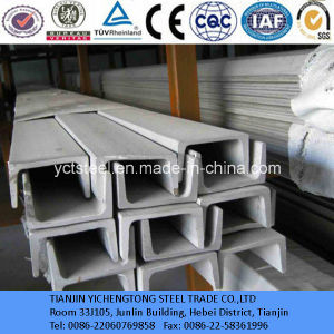 AISI 316L Stainless Steel Channel Bar (big size) pictures & photos