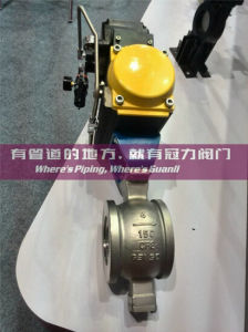 Stainless Steel Segment Ball Valve for Water Treatment Industry pictures & photos