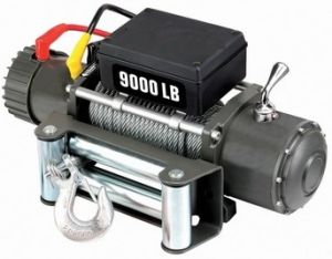 Truck Trailer Jeep 4x4 9000lbs 12vdc Electric Winch