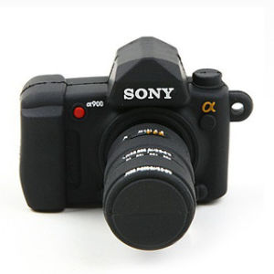 Custom camera USB Flash Drive as Promotional Gift pictures & photos
