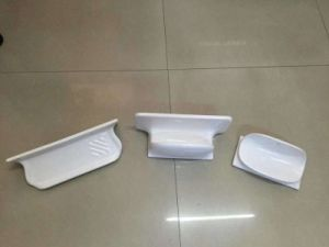 Ceramic Sanitary Ware Shower Shelf for Soap and Shamoo Holder pictures & photos