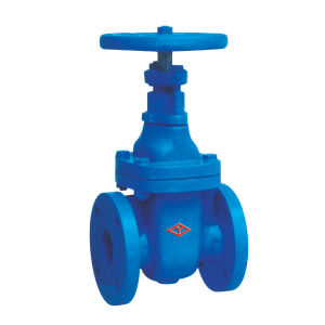 Non Rising Stem Flange Cast Iron Gate Valve with ISO9001