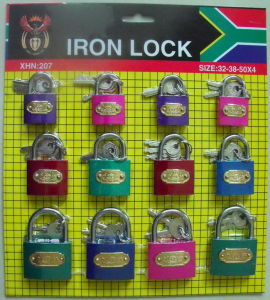 Colorful Iron Padlock (G253238) pictures & photos