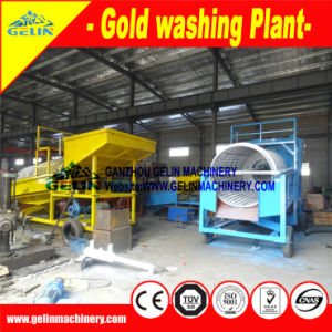 Portable Small Trommel, Small Washing Plant for Gold pictures & photos